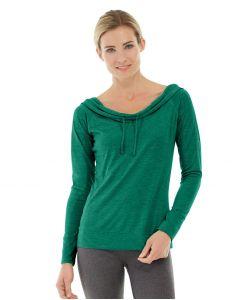Mona Pullover Hoodlie-S-Green