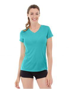 Gabrielle Micro Sleeve Top-S-Blue